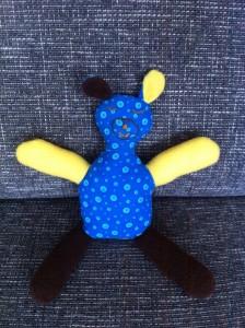 knuffelpop gemaakt door Minke