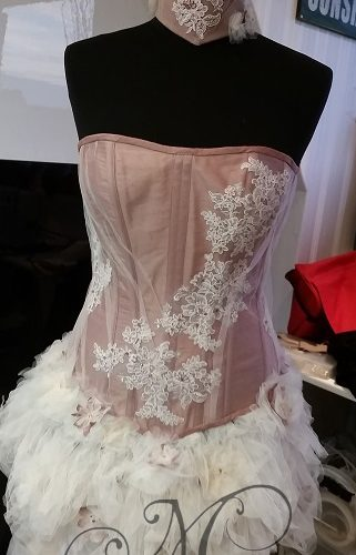 oud roze pop 10 kl