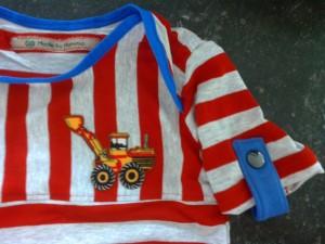 T-shirt tractor gemaakt door Mariette