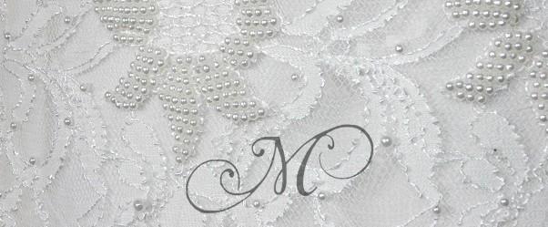 witte jurk kant kralen detail kl